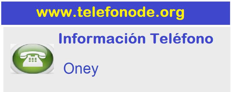 Telefono  Oney