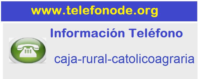 Telefono  caja-rural-catolicoagraria