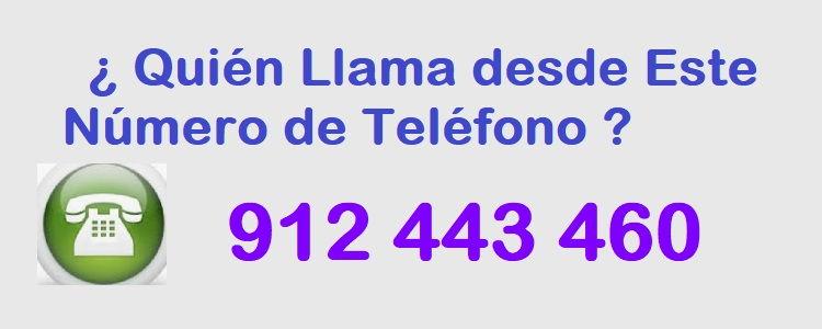 teléfono 912443460