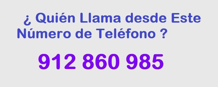 teléfono 912860985