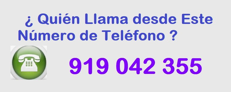 teléfono 919042355
