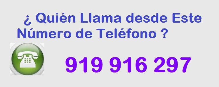 teléfono 919916297