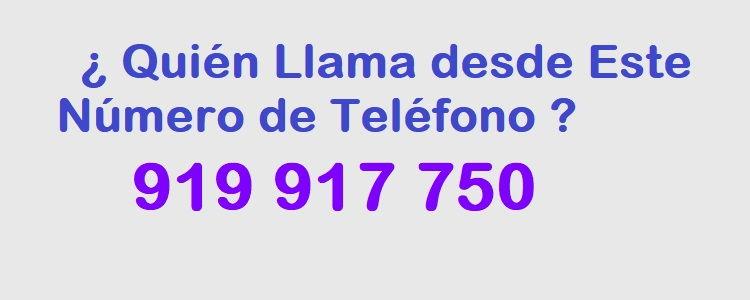 teléfono 919917750