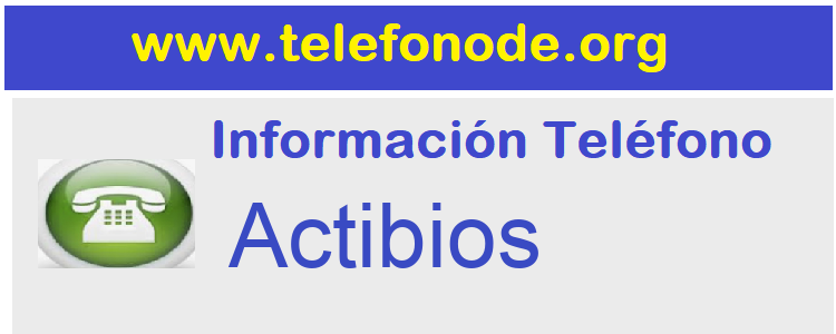 Telefono  Actibios