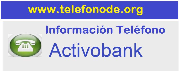Telefono  Activobank