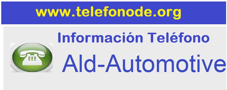 Telefono  Ald-Automotive