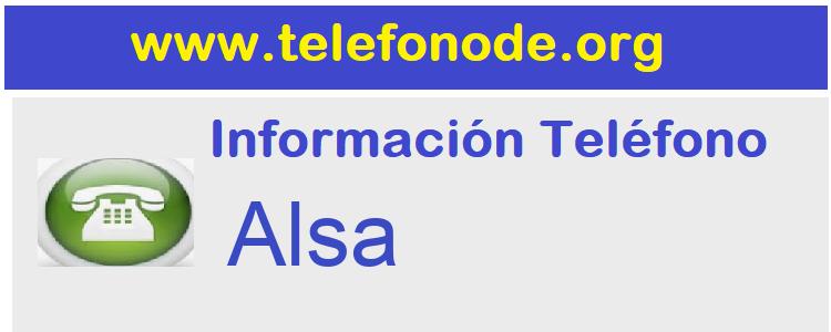 Telefono  Alsa