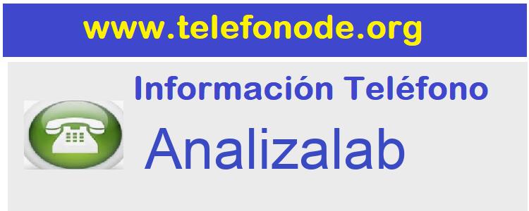 Telefono  Analizalab