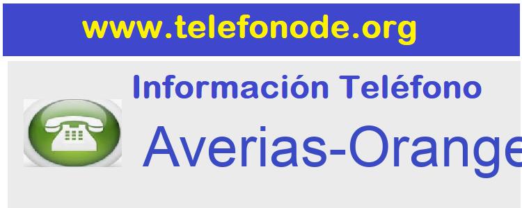 Telefono  Averias-Orange