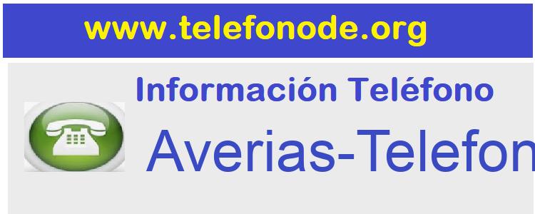 Telefono  Averias-Telefonica