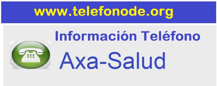 Telefono  Axa-Salud