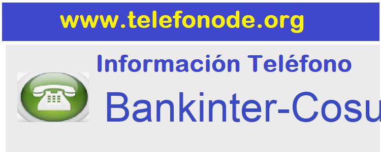 Telefono  Bankinter-Cosumer-Finance