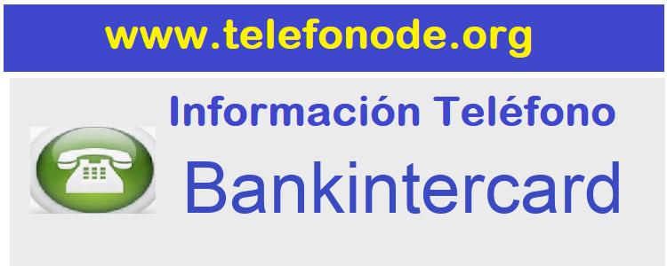 Telefono  Bankintercard