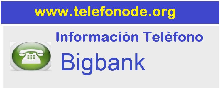 Telefono  Bigbank