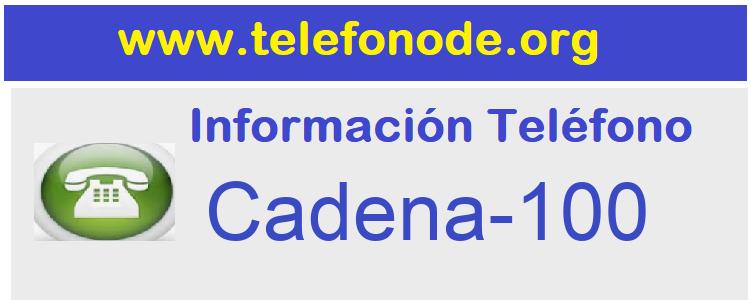 Telefono  Cadena-100