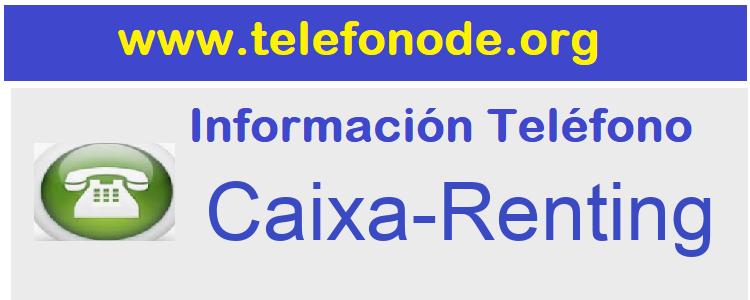 Telefono  Caixa-Renting