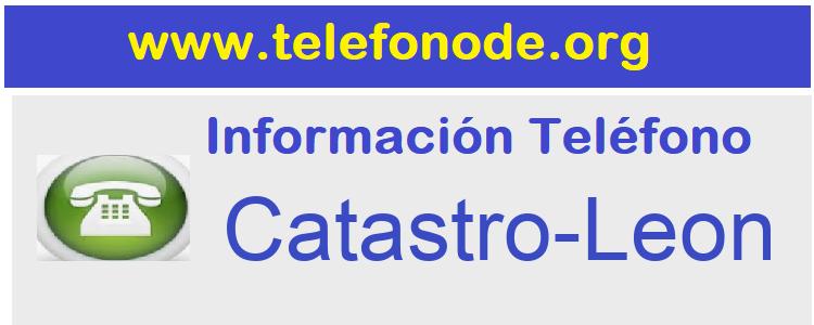 Telefono  Catastro-Leon
