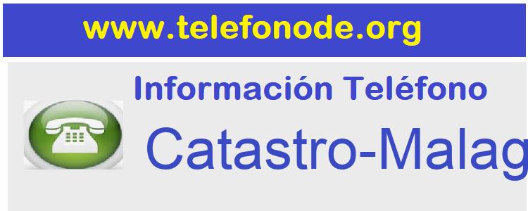 Telefono  Catastro-Malaga