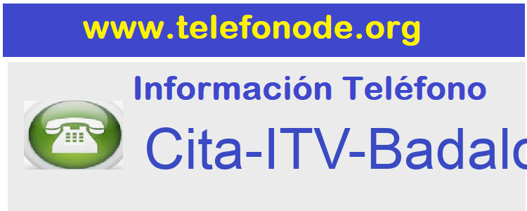 Telefono  Cita-ITV-Badalona