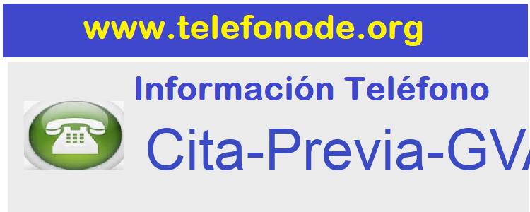 Telefono  Cita-Previa-GVA