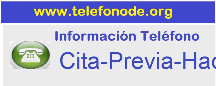 Telefono  Cita-Previa-Hacienda