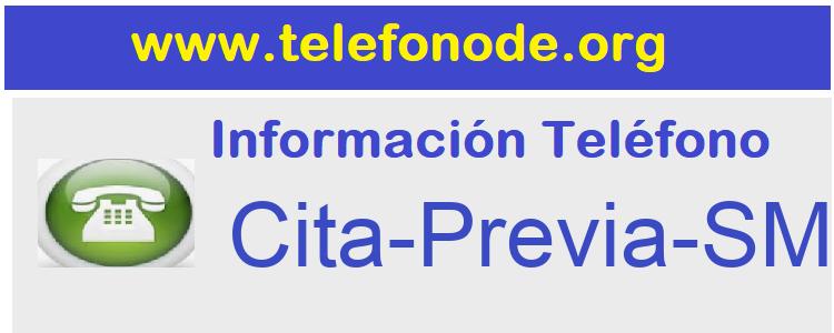 Telefono  Cita-Previa-SMS-Murcia-Salud