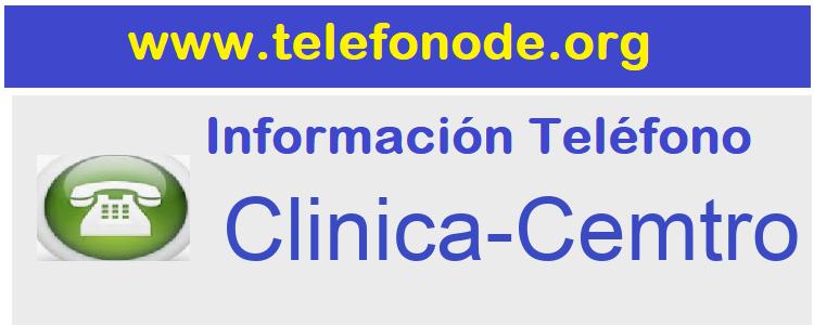 Telefono  Clinica-Cemtro