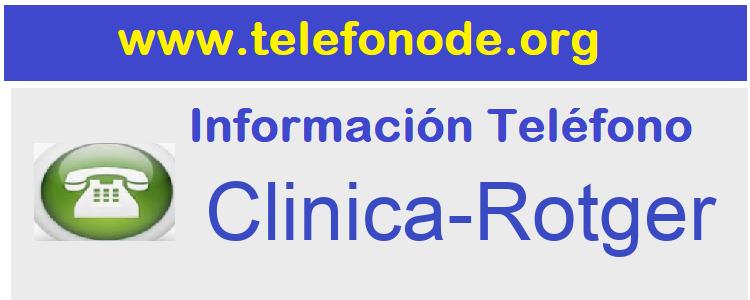 Telefono  Clinica-Rotger