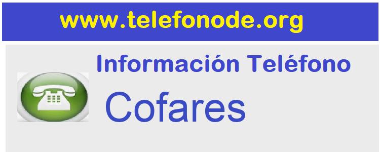 Telefono  Cofares