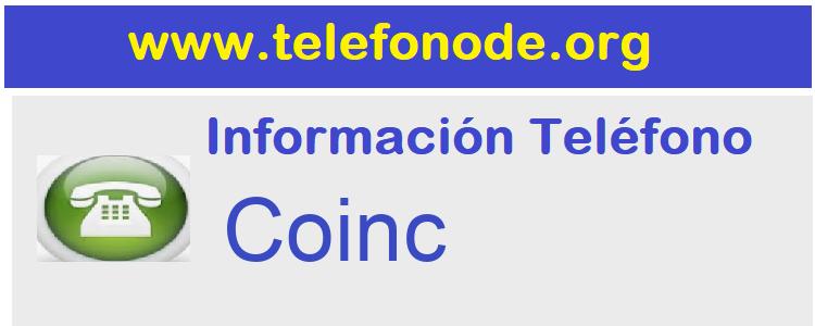 Telefono  Coinc