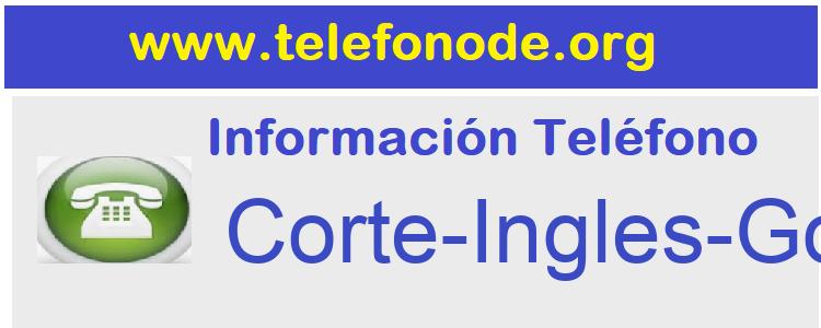 Telefono  Corte-Ingles-Goya