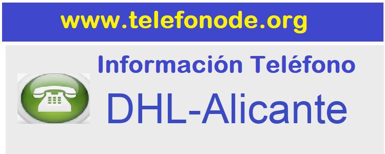 Telefono  DHL-Alicante