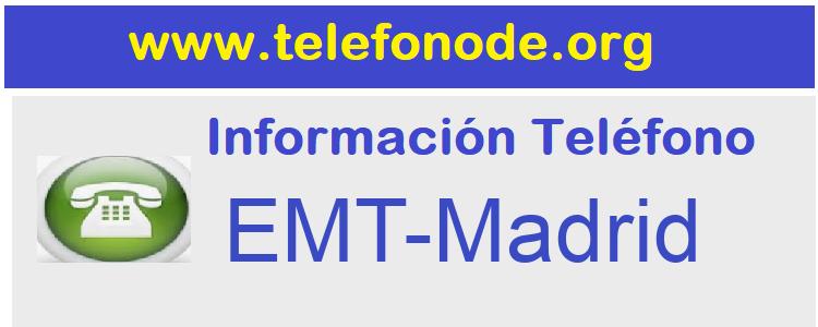 Telefono  EMT-Madrid
