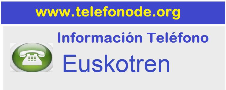 Telefono  Euskotren