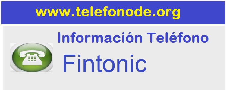 Telefono  Fintonic
