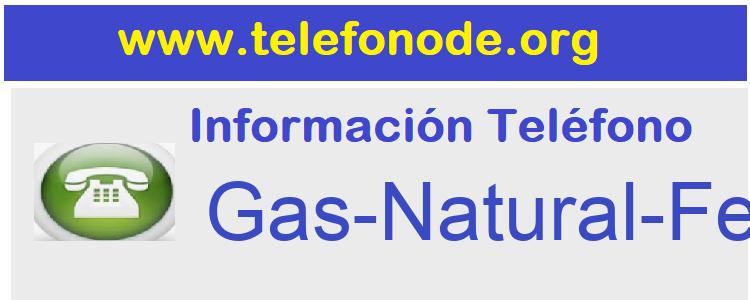 Telefono  Gas-Natural-Fenosa