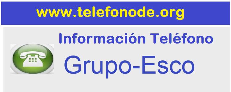 Telefono  Grupo-Esco