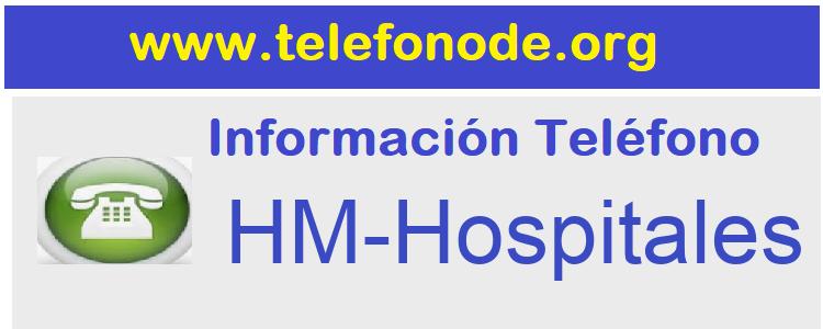 Telefono  HM-Hospitales