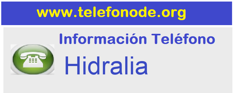 Telefono  Hidralia
