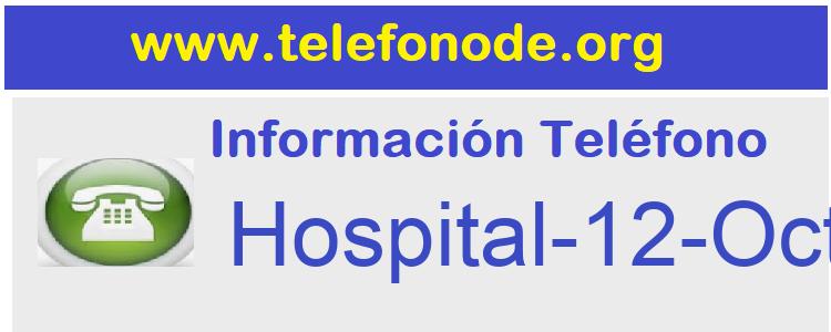 Telefono  Hospital-12-Octubre