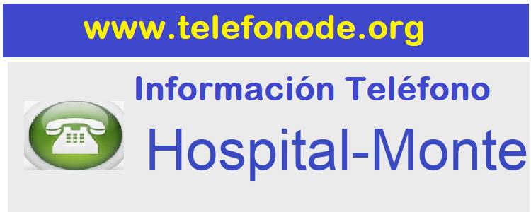 Telefono  Hospital-Monteprincipe