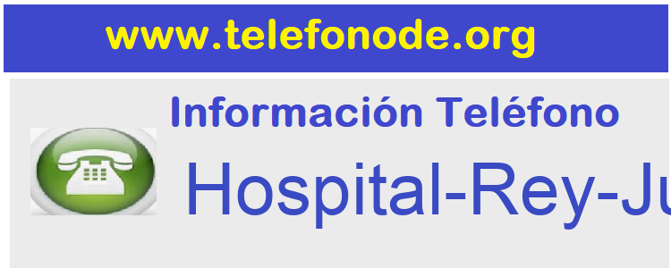 Telefono  Hospital-Rey-Juan-Carlos