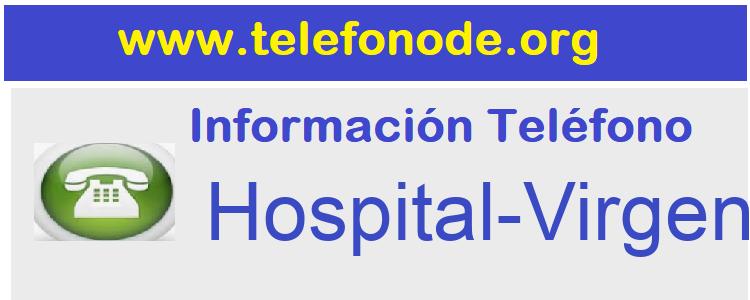 Telefono  Hospital-Virgen-del-Mar