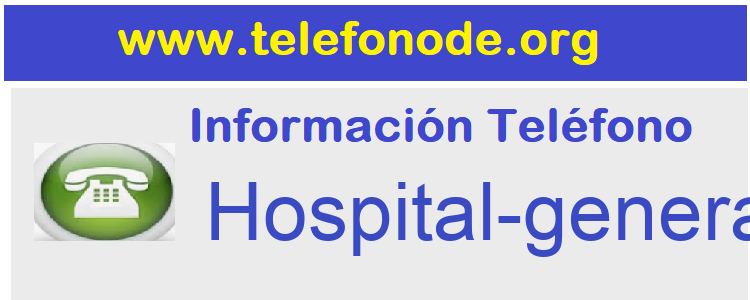 Telefono  Hospital-general-Valencia