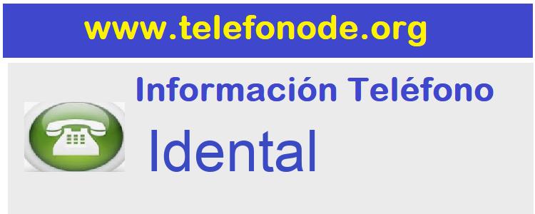Telefono  Idental