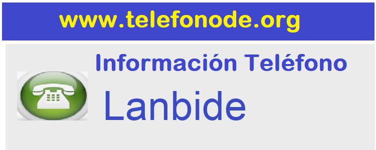 Telefono  Lanbide