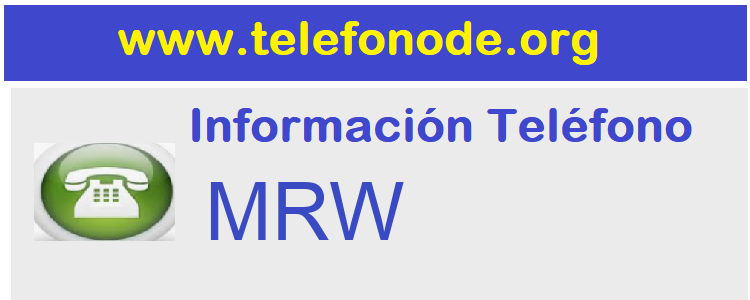 Telefono  MRW