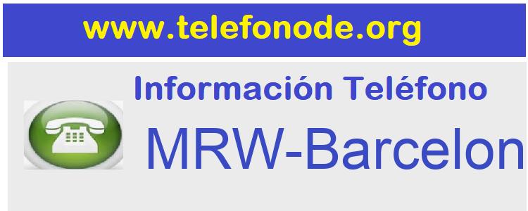 Telefono  MRW-Barcelona