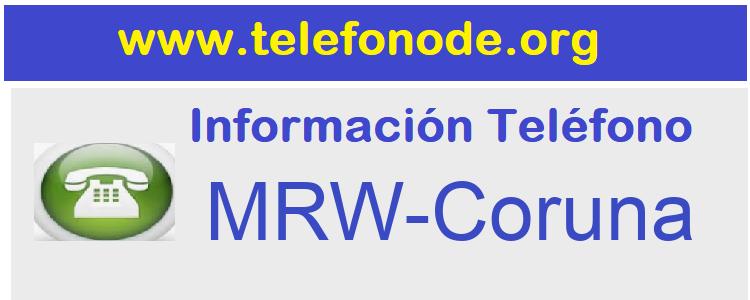 Telefono  MRW-Coruna