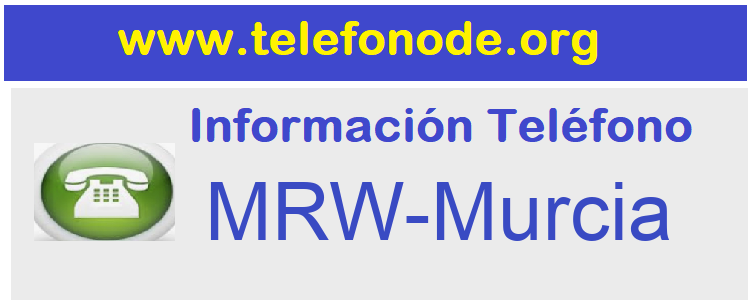 Telefono  MRW-Murcia